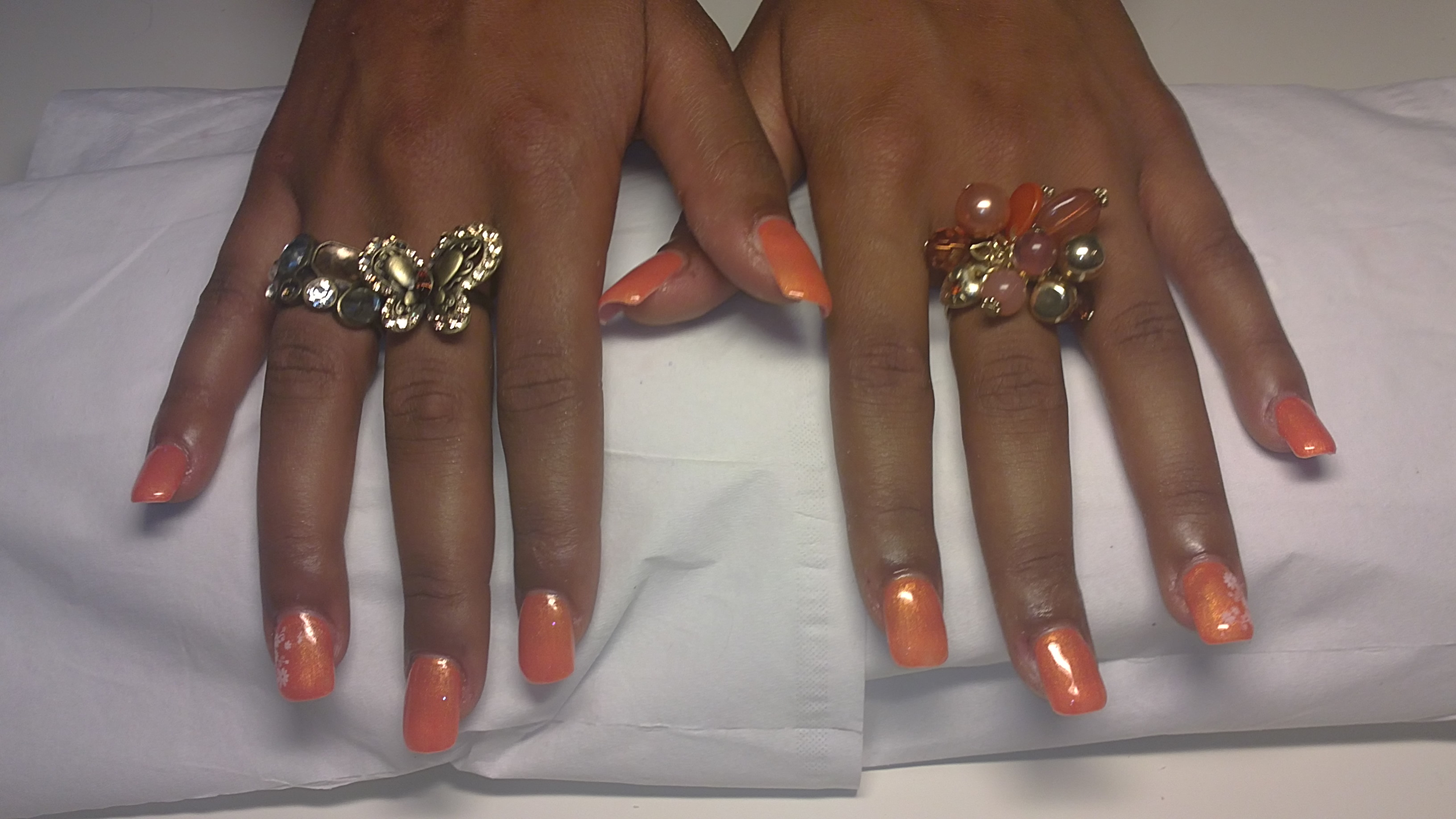 pose ongle couleur gel