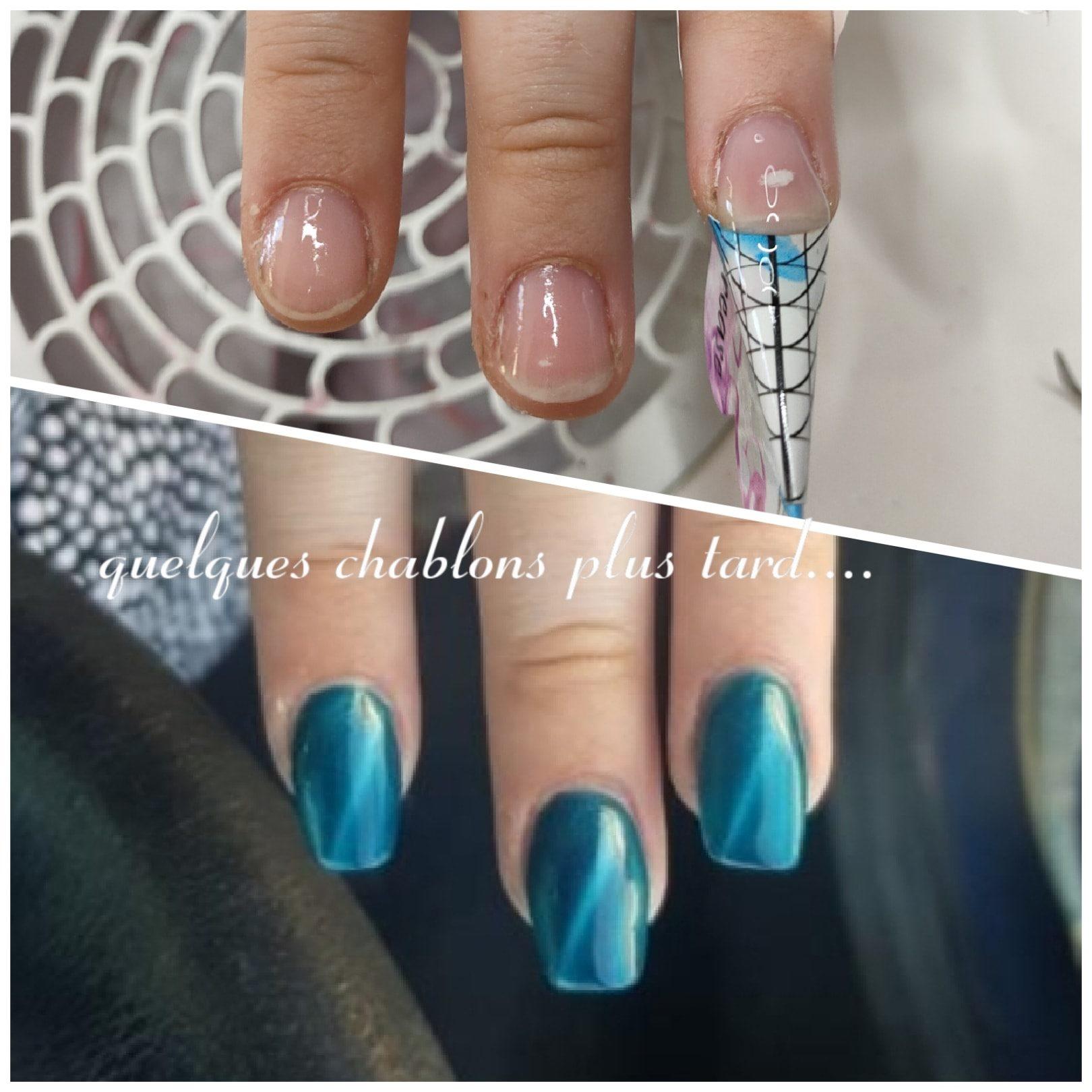 ongles chablon onglerie instantanails gel montpellier nail art